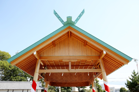 building structure: Japanese sumo wrestling house