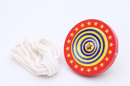 spinning top: Japanese toy koma spinning top