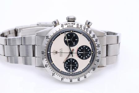 """""""Rolex Cosmograph Daytona"""" vintage horloge in een etalage"""