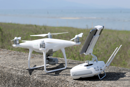 drone and remote controller, tool for aerial photo and video