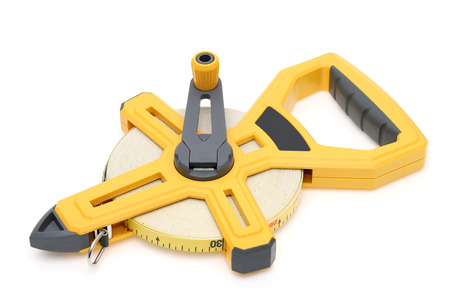 Industrial measuring tape surveying
