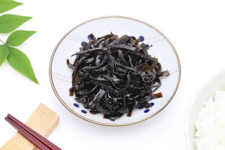 Japanese food, Tsukudani of seaweed konbu