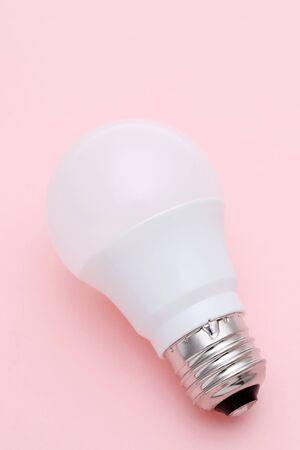 LED energy saving bulb Stock Photo