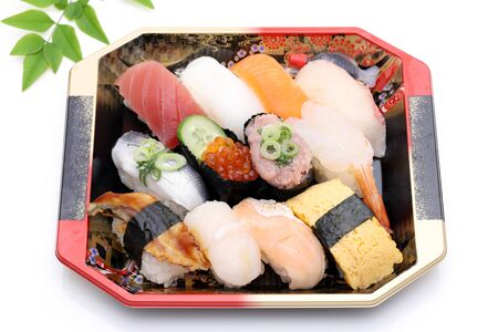 Japanese Sushi Bento, lunch pack Banque d'images