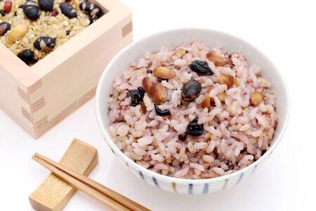 Japanese food, Gokoku Mai boiled rice