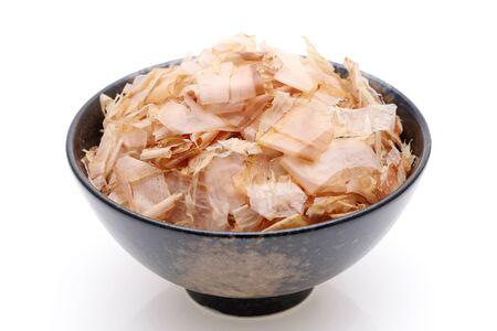 Japanese food, Katuobushi on cooked rice