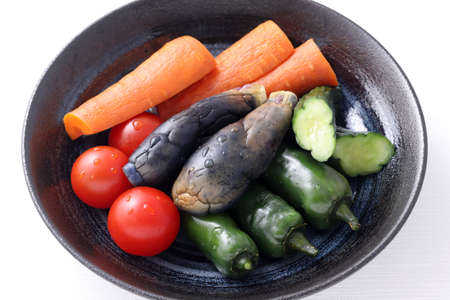 Nukazuke, Salty bran pickled vegetables, japanese traditional food