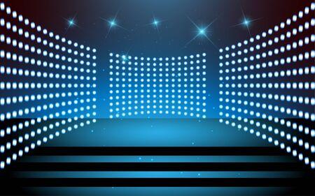 spotlight on the stage