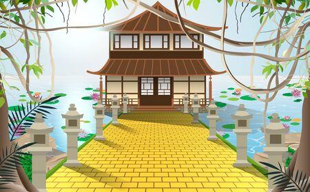 dojo in the swamp in japan