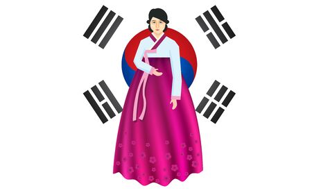 Korean women in hanbok