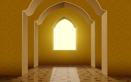 view of window in the mosque