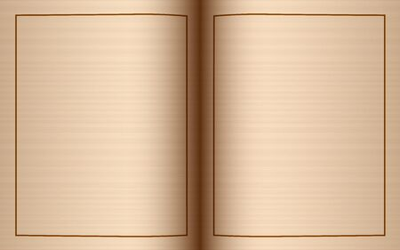 blank page of old book abstract background