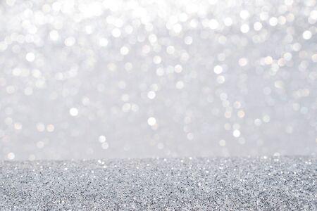 sfondo astratto glitter argento