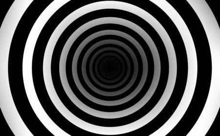 czarno-białe tło tekstury tunelu