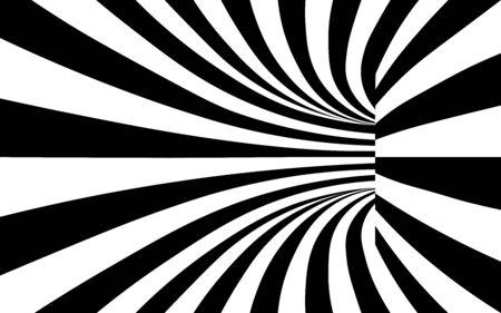 fond de texture tunnel noir et blanc