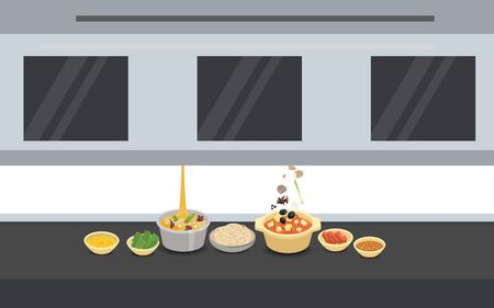 robot cooking in a restaurant