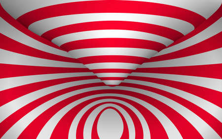 red and white tunnel texture background
