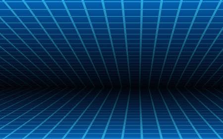 blue line room texture background 矢量图像