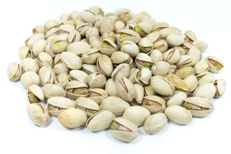 allergic ingredients: Pistachios nuts Stock Photo