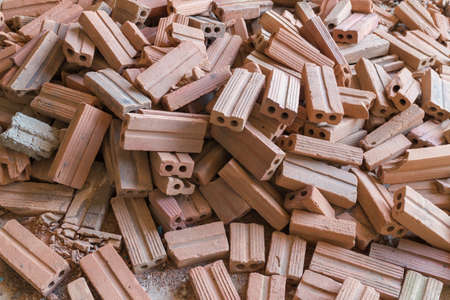masonary: Big pile of bricks