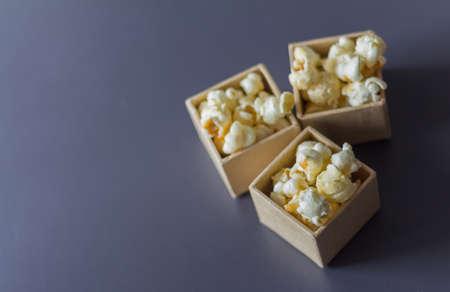 dulce de leche: Palomitas del caramelo Foto de archivo