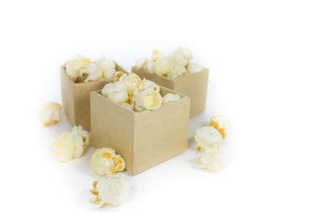 Caramel popcorn photo