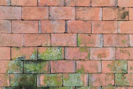 Old Red brick wall seamless illustration background  texture pattern illustration
