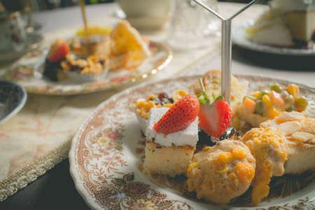 teatime: homemade desserts that served during teatime