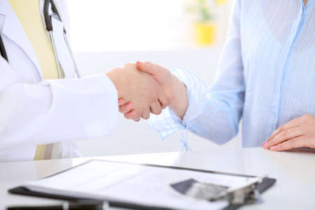 attentive: Partnership, trust and medical ethics concept