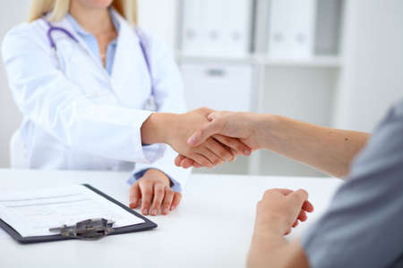 md: Partnership, trust and medical ethics concept. Medicine and health care