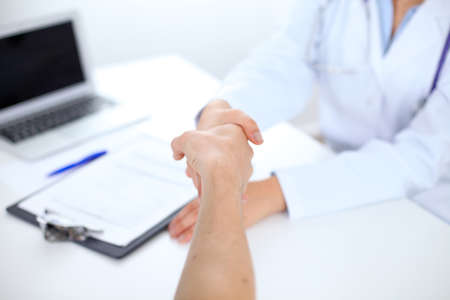 positiv: Partnership, trust and medical ethics concept. Medicine and health care