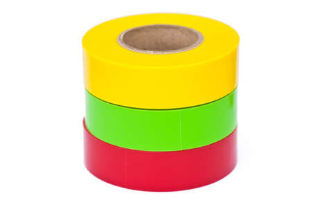 insulation tape on white background  photo