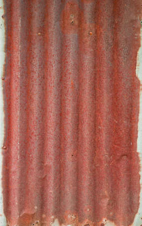 background image of rusty corrugated iron sheets  photo