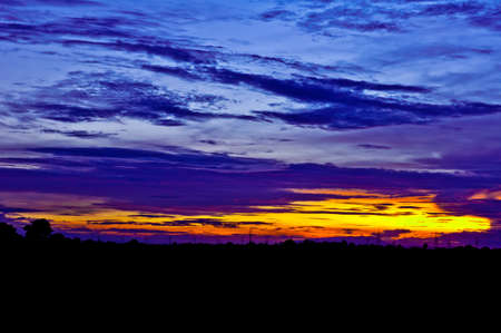 colorful sky in thailand Stock Photo - 15059992