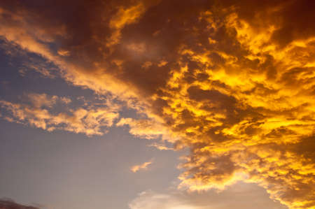colorful sky and cloudy Stock Photo - 15253711