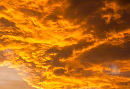 colorful sky and cloudy Stock Photo - 15253709