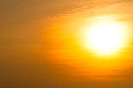 Beautiful sunset Stock Photo - 18565013