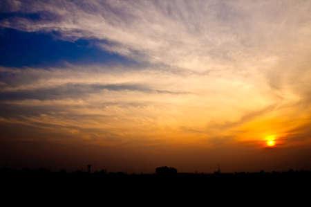 Beautiful sunset Stock Photo - 18594720