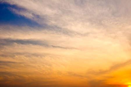 Beautiful sunset Stock Photo - 18594725