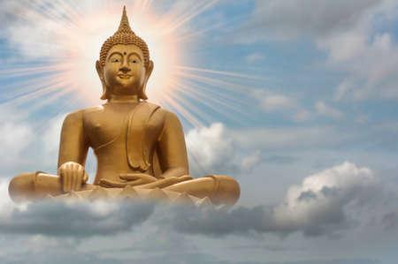 Buddha and sky