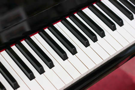 a piano keyboard keys photo