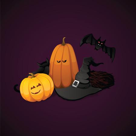 Halloween vector background Vector
