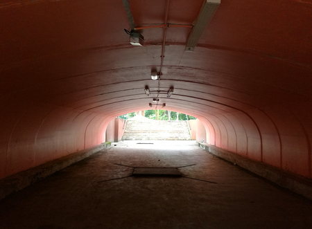 tunnel in the zoo