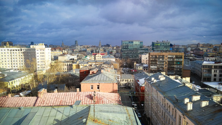 petrovka: Moscow City center view