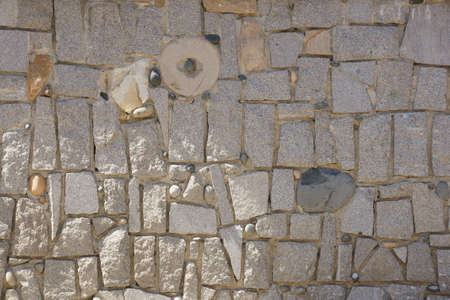 lintel: stone wall