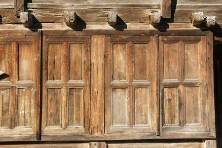 farmhouse: wall of the farmhouse 7