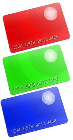 Membership rgb Card on white background Stock Photo - 11889570