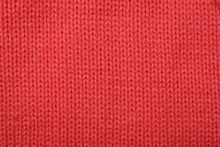 Close-up of knitted wool texture photo
