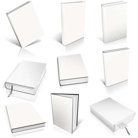 9 白い空白地本テンプレートにします。