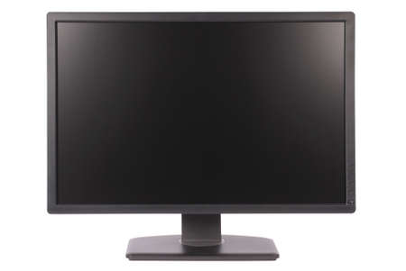 Computer monitor on white background. Clipping path included. Separate clipping path to the screen Stock Photo